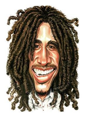 Bob Marley Poster by Art