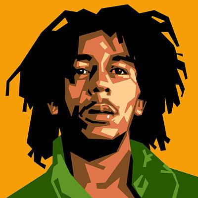Bob Marley Poster by Douglas Simonson