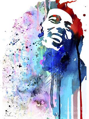 Bob Marley Poster by Luke and Slavi