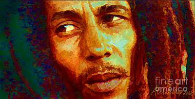 Bob Marley One And Only Poster by Alexandra Jordankova