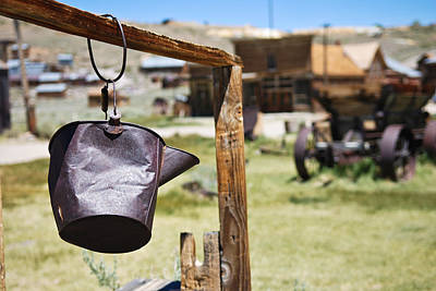 Bodie Ghost Town 2 - Old West Poster by Shane Kelly