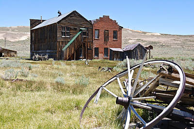 Bodie Ghost Town 3 - Old West Poster by Shane Kelly