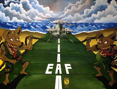 Bogue Rats Poster by Richard Bantigue