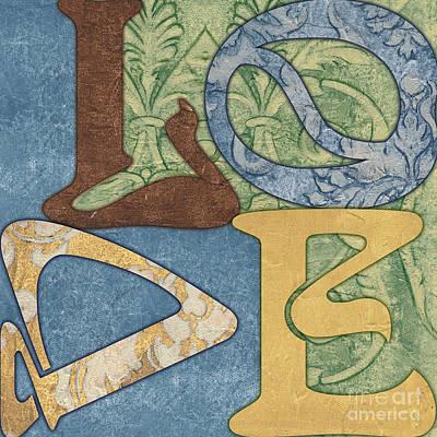 Bohemian Love Poster by Debbie DeWitt