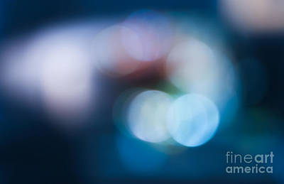 Bokeh Lights Poster by Sharon Mau