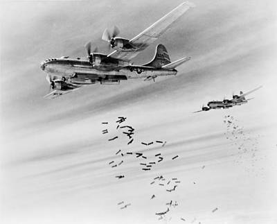 Bombs Over Burma Poster by US Army Air Force