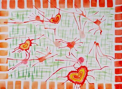 Bonds Of Love Poster by Sonali Gangane