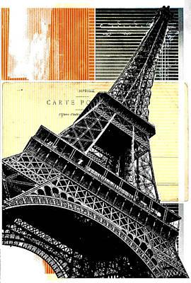 Bonjour Paris  Poster by Steven  Taylor