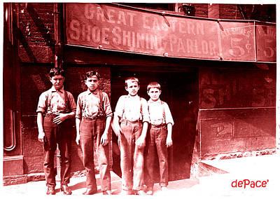 Bootblack Boys Poster by KJ DePace
