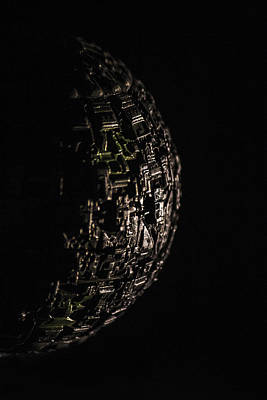 Borg Sphere Poster by David Doyle