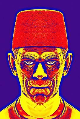 Boris Karloff Alias In The Mummy Poster by Art Cinema Gallery