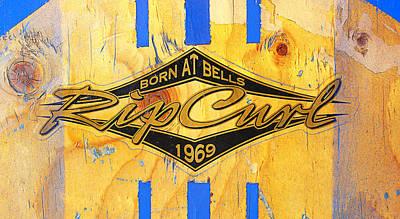 Born At Bells Poster by Ron Regalado