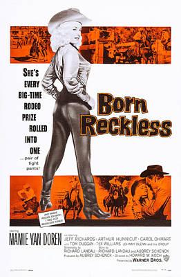 Born Reckless, Us Poster Art, Mamie Van Poster by Everett