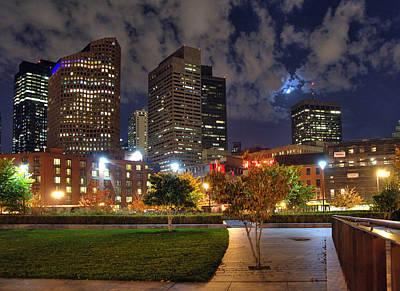 Boston Nights3 Poster by Joann Vitali