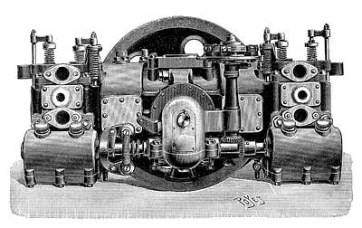 Boudreaux-verdet Engine Poster by Science Photo Library