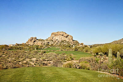 Boulders Golf Poster by Scott Pellegrin