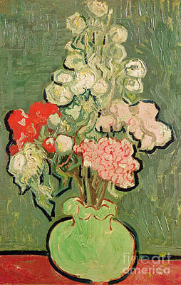 Bouquet Of Flowers Poster by Vincent van Gogh