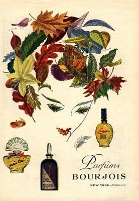 Bourjois 1940s Usa Womens Poster by The Advertising Archives