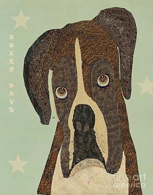 Boxer Days Poster by Bri B