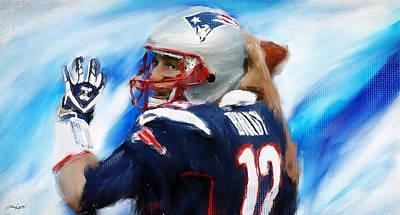 Brady Poster by Lourry Legarde