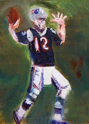 Brady Power Poster by Michael Helfen