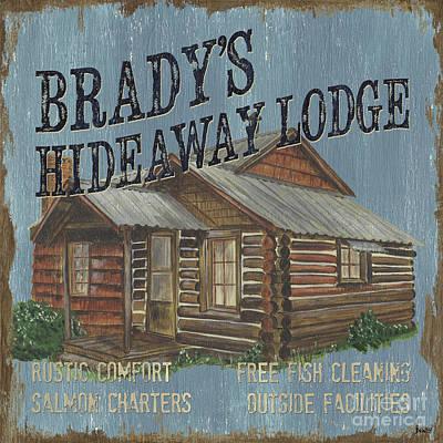 Brady's Hideaway Poster by Debbie DeWitt
