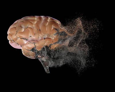 Brain Disease Poster by Christian Darkin