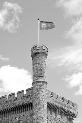 Brandeis University Usen Castle Poster by University Icons