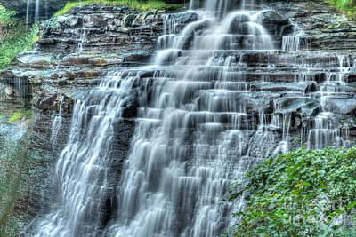 Brandywine Falls Cascade Poster by Patrick Shupert