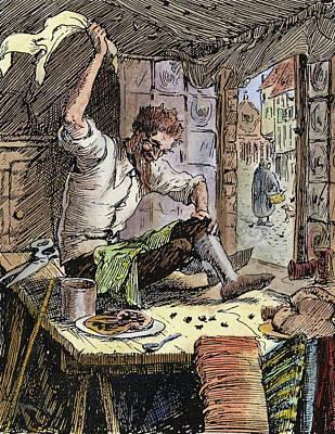 Brave Little Tailor, 1891 Poster by Granger