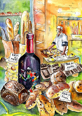 Bread From Bergamo Poster by Miki De Goodaboom