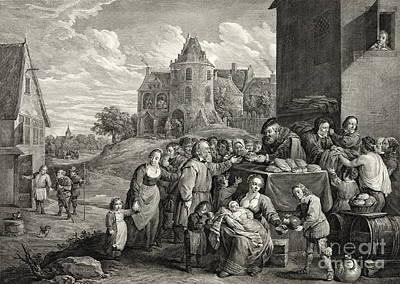 Breadline 1747 Poster by Padre Art