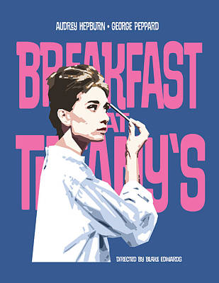 Breakfast At Tiffany's Poster by Douglas Simonson