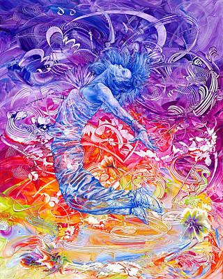 Breaking Free II Poster by Susan Card