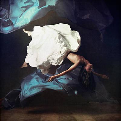 Breathe In Breathe Out Poster by Anka Zhuravleva