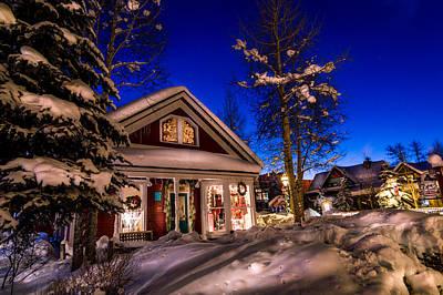 Breckenridge Winter Wonderland Poster by Michael J Bauer
