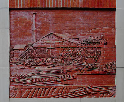 Brick Lumber Mill  Poster by Richard Reeve