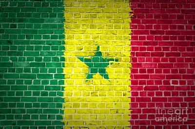 Brick Wall Senegal Poster by Antony McAulay