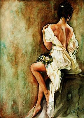 Bride Poster by Boris Ivkov