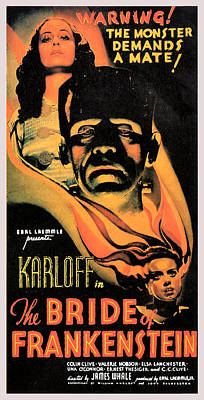Bride Of Frankenstein Poster by Studio Release