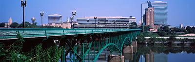 Bridge Across River, Gay Street Bridge Poster by Panoramic Images