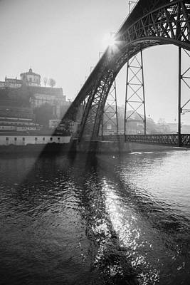 Bridge In The Sun Poster by Maria Conceicao Pires - Lightfactory