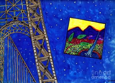 Bridge Poster by Sarah Loft