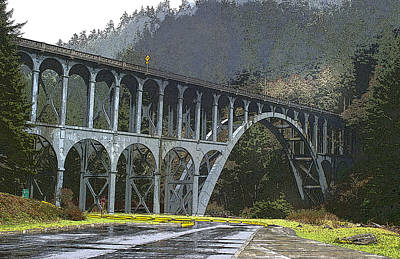 Bridge To Nowhere Poster by Harold Greer