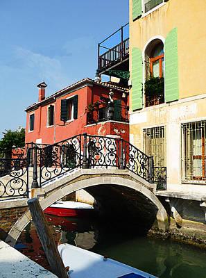 Bridges Of Venice Poster by Irina Sztukowski