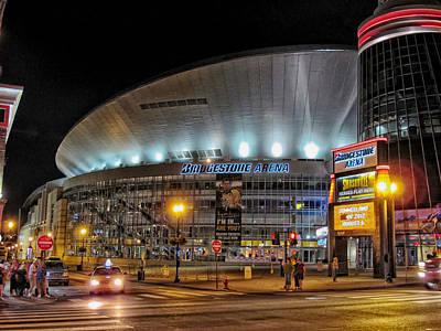 Bridgestone Arena - Nashville Poster by Mountain Dreams