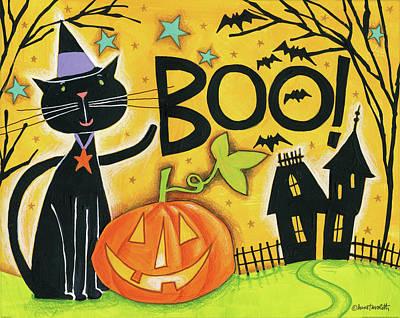 Bright Halloween II Poster by Anne Tavoletti