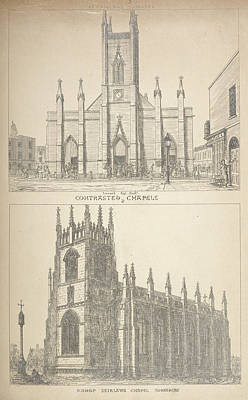 British Gothic Cathedrals Poster by British Library