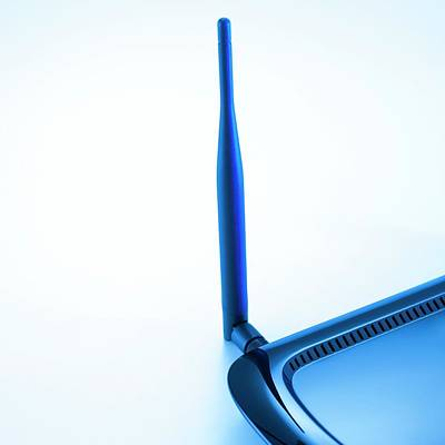 Broadband Router Poster by Science Photo Library