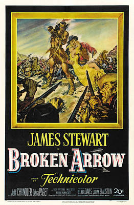Broken Arrow, Us Poster Art, From Left Poster by Everett